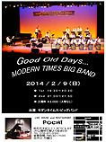 MODERN TIMES BIG BAND LIVE AT POCHI